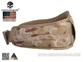 Padded Molle Waist Battle Belt - Multicam Arid [EmersonGear]
