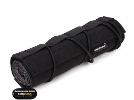 18cm Airsoft Suppressor Cover - Black [EmersonGear]