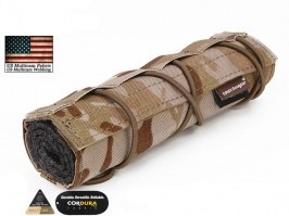 18cm Airsoft Suppressor Cover -  Multicam Arid [EmersonGear]