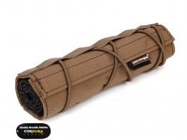 18cm Airsoft Suppressor Cover - Coyote Brown [EmersonGear]