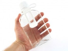Canteen style BB bottle (2000 BBs) - clear [BLS]