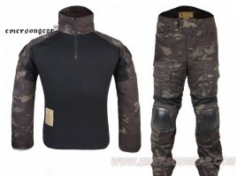 Combat BDU set Multicam Black- Gen2 [EmersonGear]