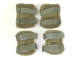 Tactical elbow and knee pad set - ACU [EmersonGear]