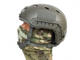 FAST Helmet - Base Jump type - FG colour, NEW MODEL [EmersonGear]