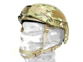 FAST Helmet - Base Jump type - Multicam colour, NEW MODEL [EmersonGear]