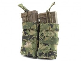 Modular Open Top Double MAG Pouch - AOR2 [EmersonGear]