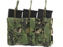 Modular Open Top Triple MAG Pouch - AOR2 [EmersonGear]