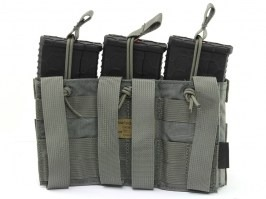 Modular Open Top Triple MAG Pouch - FG [EmersonGear]