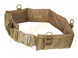 Tactical Padded Patrol MOLLE belt - Coyote Brown (CB) [EmersonGear]