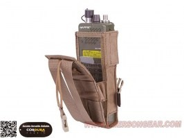 PRC148/152 Tactical Radio Pouch - Coyote Brown (CB) [EmersonGear]