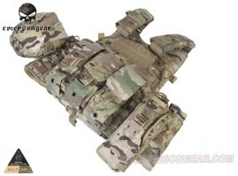 LBT6094A Plate Carrier With 3 Pouches - Multicam [EmersonGear]