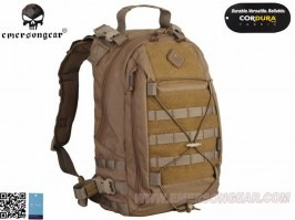 Assault Operator Backpack, 13,5L - removable straps - Coyote Brown (CB) [EmersonGear]