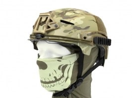EXF BUMP Helmet with the foldable visor - Multicam colour [EmersonGear]