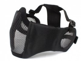 Face mask  Battlefield Elite with ear protection - black [EmersonGear]