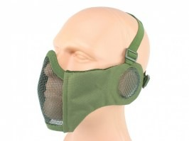 Face mask  Battlefield Elite with ear protection - Olive Green (OD) [EmersonGear]