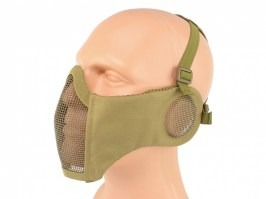 Face mask  Battlefield Elite with ear protection - Coyote Brown (CB) [EmersonGear]