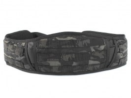 Padded Molle Waist Battle Belt - Multicam Black [EmersonGear]