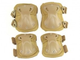 Tactical elbow and knee pad set - Coyote Brown (CB) [EmersonGear]
