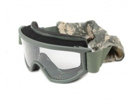 Land Ops goggle with ballistic resistance, FG - clear, gray [ESS]