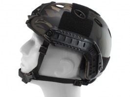 FAST Helmet - PJ type -carbon fiber, Multicam Black,  NEW MODEL [EmersonGear]