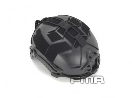 Helmet modified with rubber suits -black [FMA]