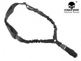 L.Q.E one point bungee sling - black [EmersonGear]
