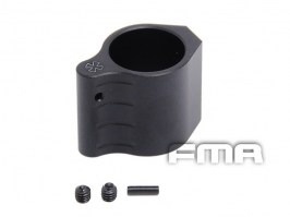 Low profile barrel gas block for M4 series - black [FMA]
