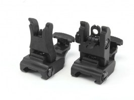 Mechanical RIS sights set, type 71L - black [FMA]