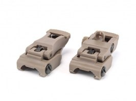 Mechanical RIS sights set, type 71L - TAN [FMA]