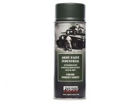 Spray army paint 400 ml. - Forest green [Fosco]