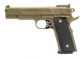 Airsoft pistol G.20 full metal spring action - desert [Galaxy]