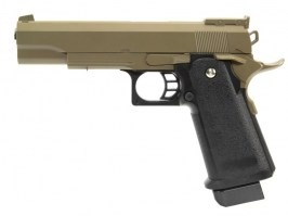 Airsoft pistol G.6 full metal spring action - desert [Galaxy]