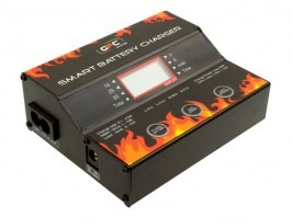 GFC Smart Battery Charger for NiMH, Li-Pol, Li-Fe, Li-Ion a NiCd [GFC]