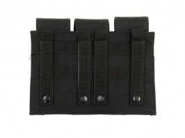 Triple pouch for M4/M16 type magazines - black [GFC]