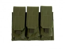 Triple pouch for M4/M16 type magazines - OD [GFC]