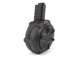 Drum Hi-Cap magazine for ARP9, 1500 rounds, manual wind - black [G&G]
