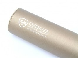 Metal Full Auto Tracer (illumination) silencer Battle Owl - Desert TAN [G&G]