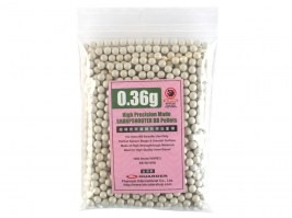 Airsoft BBs Guarder 0,36g 1000pcs - white [Guarder]