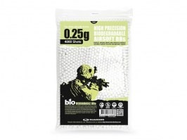 Airsoft BBs Guarder BIO 0,25g 4000pcs - white [Guarder]