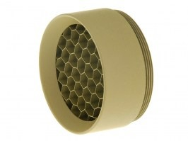 Kill Flash for riflescopes with lens diameter 24mm (tube 30mm) - TAN [JJ Airsoft]