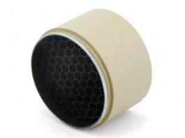 Kill Flash for riflescopes with lens diameter 50mm (tube 54mm) - TAN [JJ Airsoft]