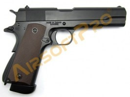 Airsoft pistol 1911 A1 - full metal, blowback - CO2 [KJ Works]