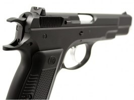 Airsoft pistol KP-09 CZ75 - gas blowback, full metal - version 2 [KJ Works]