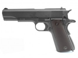 Airsoft pistol 1911 CO2, full metal, blowback - black [KWC]