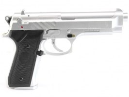 Airsoft pistol M92, manual - silver [KWC]