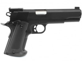Airsoft pistol Match 1911 spring action - black [KWC]
