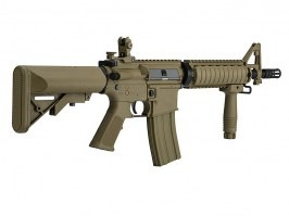 Airsoft rifle M4 CQBR Sportline (LT-02 Gen.2) - TAN [Lancer Tactical]