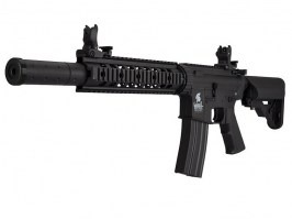 Airsoft rifle M4 SD Sportline (LT-15 Gen.2) - black [Lancer Tactical]