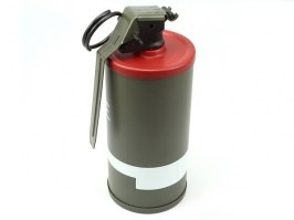 Dummy M18 Smoke Grenade - BB container, red [A.C.M.]