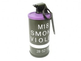 Dummy M18 Smoke Grenade - BB container purple [A.C.M.]